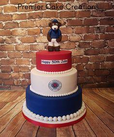 Rangers broxi bear cake