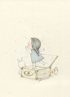 "Rattling is short like the moment of flowers with the wind. It""s okay, you are doing so good. Cute Disney Drawings, Girly Drawings, Doodle Drawings, Rabbit Illustration, Funny Illustration, Creative Journal, Creative Art, Dream Art, Love Wallpaper"