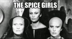 El Descanso del Escriba: Old School Spice Girls