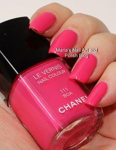 Marias Nail Art and Polish Blog: Chanel Boa 111
