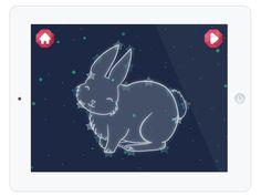"""Zahlen und Tiernamen am Sternenhimmel lernen: die Kinder-App """"Star Gurus"""""""