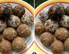 Kokosovo-čokoládové guličky bez pečenia - Receptik.sk Crazy Cakes, Cereal, Muffin, Breakfast, Food, Basket, Morning Coffee, Eten, Cupcakes