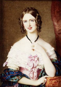Anne, Duchess of Atholl (1814-1897), portrait byGugliemo Faija (1803-73) - Mistress of the Robes for Queen Victoria