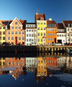 Christianshavn, Copenhagen (Denmark) I want to go back there. Loved Denmark so much! Dream Vacations, Vacation Spots, The Places Youll Go, Places To See, Denmark Travel, Copenhagen Denmark, Copenhagen Travel, Malta, Helsinki