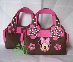 Handbag (Bolsitos de Minnie) en foami.