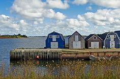 Fisherman's Huts, New London, Prince Edward Island