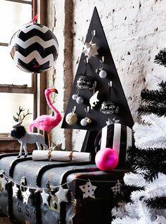 Christmas Decoration Ideas - Monochrome