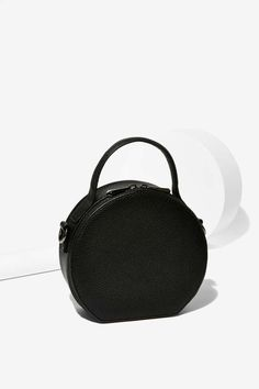 Circle Back Leather Crossbody Bag