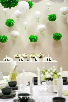 Dekoracje weselne Edan-Art, Kwiaty do ślubu warmińsko-mazurskie. Bajkowy Zakątek  #wesele #slub