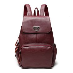 Backpacks Women's Bags Joyir Women Backpack Genuine Leather Vintage Brown School Girl Shoulder Bag Backpacks Female Leather Ladies Shopping Travel Bags Always Buy Good