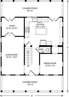Best Center Hall Colonial Floor 1 Love It Except Move 640 x 480