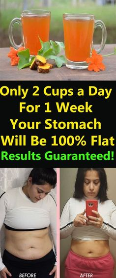 Only 2 Cups a Day For 1 Week and Your Stomach Will Be Flat Results Guaranteed! – How to Get Rid of Belly Fat Reduce Belly Fat, Lose Belly Fat, Loose Belly, Weight Loss Blogs, Stubborn Fat, Belly Fat Workout, Loose Weight, Weight Gain, Fat Fast