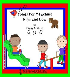 TWO fun songs that will assist you in teaching high and low to your younger students. Quick, easy and great for anytime of year!