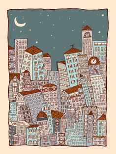 Nighttime in the City  Nate Duval