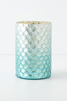mercury glass: sea gleam hurricane at Anthropologie, $18...part of a collection