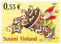 Joulupostimerkki 2007