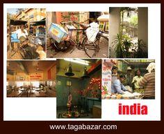 Inde Photo Taga Bazar, une déco voyageuse, métissée et chic . A retrouver sur tagabazar.com