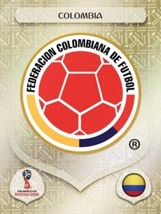 Colombia 2018 World Cup Finals card. World Cup Russia 2018, World Cup 2018, Fifa World Cup, Soccer World, World Football, Football Soccer, James Rodriguez, America Album, Mens World Cup