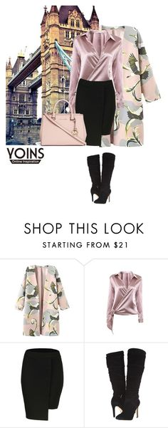 """Yoins 4/10"" by nejra-l ❤ liked on Polyvore featuring GUESS and Michael Kors"