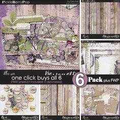 Fly On ~ 6-pack PLUS FWP by Kawouette
