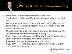 Famous Quotes By Warren Buffett. QuotesGram by @quotesgram  #warrenbuffett #warrenbuffettquotes #kurttasche