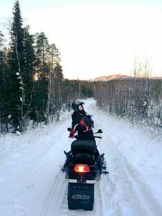 Last snowmobile trip