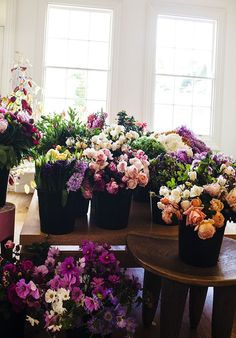 For easy flower arranging tips to make your blooms fun check out  http://dropdeadgorgeousdaily.com/2015/08/15-quirky-vases-to-add-some-fun-to-your-flowers/