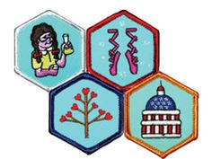American Heritage Girls ... a badge-earning program that places the honoring of Jesus Christ first.
