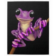 Shop Cute Purple Tree Frog with Eye Glasses with Stars Laptop Sleeve created by crazycreatures. Personalize it with photos & text or purchase as is! Funny Frogs, Cute Frogs, Tree Frog Tattoos, Frog Drawing, Frog Pictures, Prince Charmant, Aquarell Tattoos, Purple Trees, Frog Art