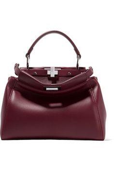 b0daf5aef906 Fendi - Peekaboo mini leather shoulder bag
