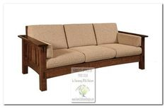 Mission Style Sofas - craftsman - Sofas - Chicago - Green Craftsman Designs, Inc.
