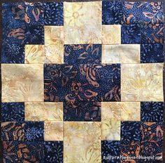 I finished up all my Batik tile blocks this week! One good thing about the wet weather we have been having is that it has kept me i...