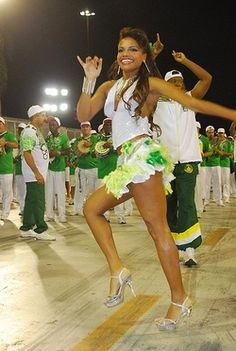 She is my fave samba dancer! Quiteria Chagas.