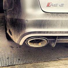 Finally: #Audi #RS6 allroad oooo : @hector_ares oooo #audidriven = 'state of mind' oooo #AudiRS6 #RS6Avant #quattro #quattroGmbH #AudiSport #v8 #biturbo #turbo #greyAudi #Audicolor #grey #wantanRS6 #amazing #beautiful #AudiRS #AudiSportcars