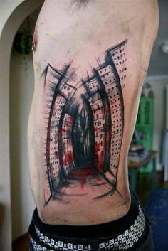 e9d9ac19f91751 32 Best Men s Side Tattoos images