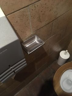 A pub in the UK haven't bothered to remove ash trays from the toilets since the smoking ban