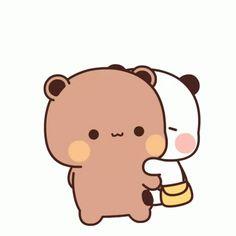 Cute Bunny Cartoon, Cute Kawaii Animals, Cute Cartoon Pictures, Cute Love Cartoons, Cute Anime Pics, Cute Images, Cute Bear Drawings, Cute Animal Drawings Kawaii, Chibi Cat