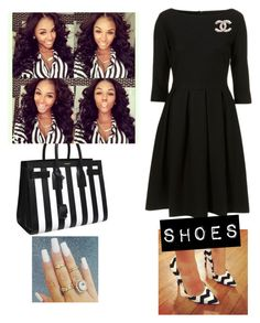 """District Meeting Church!!!!"" by cogic-fashion ❤ liked on Polyvore featuring House of Holland, Retrò and Yves Saint Laurent"