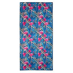 Inspire your summer style with the tropical twist to the super-absorbent Is This Love Beach Towel from Tesalate.