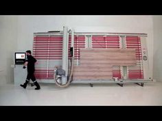 Automatic Vertical Panel Saw; Bala DPM AV - Optimisation - YouTube Panel Saw, Router Woodworking, Circular Saw, Home Appliances, Youtube, Pasta, House Appliances, Appliances, Youtubers