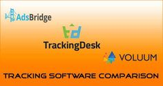 If you are new to affiliate marketing or have limited budget then I would suggest to try Adsbridge and TrackingDesk as they offer 30 days free trial along with low monthly subscription package, whereas Voluum doesn't.  #Affiliate #Tracking #Adsbridge #TrackingDesk