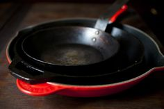 Finding the right cast iron pan