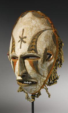 Igbo Mask, Nigeria | lot | Sotheby's #mask #nigeria                                                                                                                                                     Más