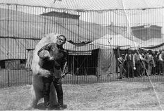 """The Circus """"NO SPIN ZONE"""": Theodore Schroder--Animal Trainer and Zoo Curator"""