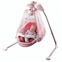 pink fisher price swing - Google Search