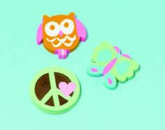 Amscan Hippie Chick Erasers Assorted (12) by Amscan. $5.97. Includes 12 assorted erasers.