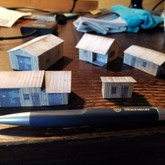 Free Paper Models, One Pic, Diorama, Apartments, Card Stock, Shops, Etsy Shop, Building, Fun