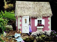 Cottage Tudor Playhouse