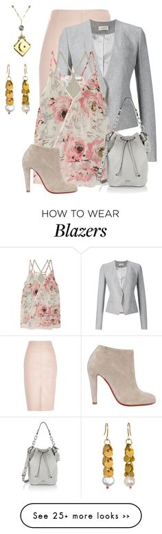 """""""Untitled #1904"""" by anfernee-131 on Polyvore featuring River Island, Thierry Mugler, Bailey 44, Just Jules, Karl Lagerfeld and Christian Louboutin"""