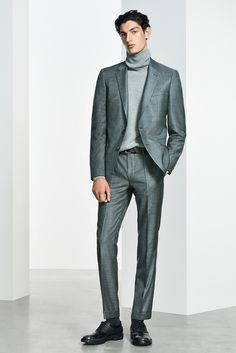 The Prespring 2019 collection Business Casual Men, Men Casual, Boy Outfits, Fashion Outfits, Stylish Mens Outfits, Hugo Boss Man, Modern Man, Men's Collection, Turtlenecks